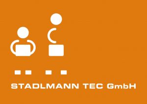 Logo Stadlmann TEC weiß orange
